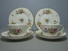Minton Marlow  Tea Cup Saucer & Plate Trio x 2