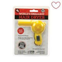 Funtime Worlds Smallest Hairdryer Novelty Gift Stocking Filler