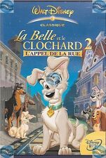 DVD DISNEY # 059 LA BELLE ET LE CLOCHARD 2 l'appel de la rue