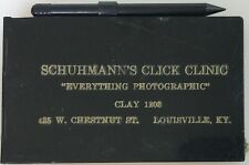 """Schuhmann's Click Clinic """"Everything Photographic"""" Note Pad LOOK!@@!"""