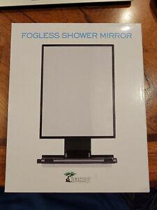 ToiletTree Products Fogless Shaving Mirror - For Anti-Fog Bathroom Shower & Bath