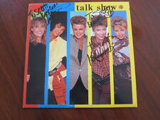GO GO'S Talk Show AUTOGRAPHED girl group lp