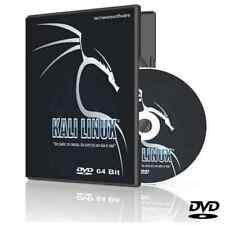 KALI LINUX O/S 64 bit DVD Ethical Hacking Computer Forensics Utilities Toolkit