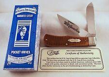 W.R. Case Classic 19USA92 Tested XX 6223 Jumbo Trapper Knife -Honey Bone