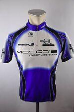 Giordana Mosca Bike cycling jersey maglia Rad Trikot Gr. M 51cm  J-12