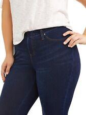 Terra & Sky Women's Plus Size 4X (28W-30W) JEGGING Ankle Length Dark Blue Denim
