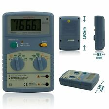 MASTECH MS5201 Digital Insulation Resistance Tester Megger Sound and Flash