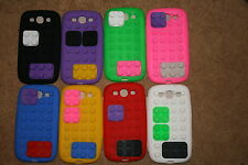 SAMSUNG GALAXY S3 LEGO BLOCKS/ GAMEBOY SOFT SILICONE CASE