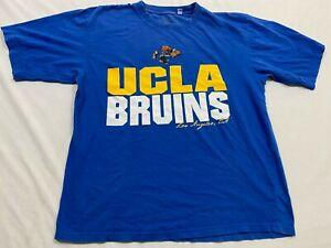 M33 RARE NCAA UCLA Bruins Los Angeles Basketball Tee T Shirt Jersey MEN'S L