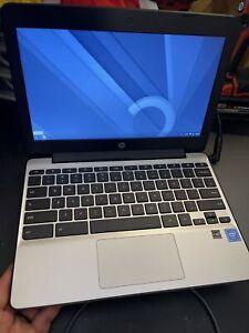 """HP 11 G5EE Chromebook 11.6"""" Intel N2840 2.16GHz 4GB RAM 16GB eMMC Flash Working"""