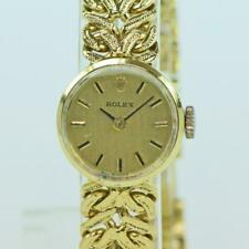 Damen Armbanduhr ROLEX Handaufzug Cal. 1400 in 18 Kt.750 Gold um 1960