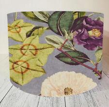 Velvet Lampshade Handmade C&C Passiflora Amethyst Floral Shade Ceiling Floor