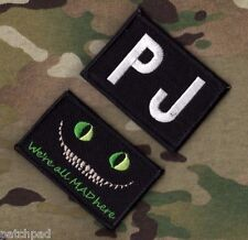 AFSOC DUSTOFF MEDICVAC PARARESCUE PEDRO PJ: Cheshire Cat We're All Mad Here + PJ