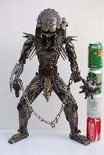 Predator  60 cms high  Gift For Boy Friend Xenomorph Metal Sculpture Scrap Metal