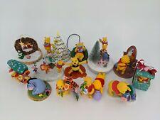 Hallmark Keepsake Christmas Ornaments Winnie the Pooh lot of 15 - Original boxes
