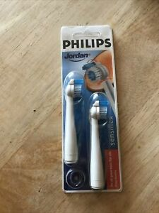 genuine philips jordan sensiflex  toothbrush heads NEW HX 2012 Fit All Sensiflex