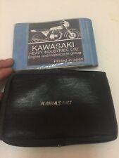 KAWASAKI Z1R 1000  Z1R1000 KZ 1000 Z1 R OEM OWNERS MANUAL  WITH KAWASAKI BAG