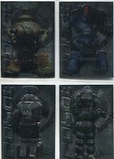 Lost In Space The Movie Complete War Of The Robots Chase Card Set R1-4
