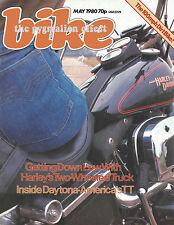 Bike May 1980 Harley Davidson FXS Low-rider Triumph Trident Rat Bike Yam IT425