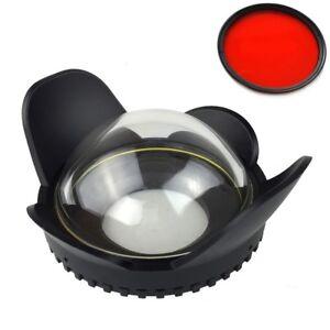 Meikon 67mm Weitwinkel Fisheye Dome Port Für Kamera Gehäuse RX100 A6000 TG-5