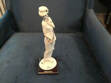 "Giuseppe Armani ""Lady With Chain"" 0411F Figurine"