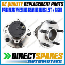 2PCS Rear Wheel Bearing + Hub Assembly for Mazda 3 BK BL 2003-2014 Hubs with ABS