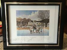Team Canada Olympic Gold Woman's Hockey Team Signed Framed Litho 2006 BEST OFFER