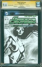 Green Lantern 13 CGC SS 9.6 Blank Sketch Cover Star Sapphire by Jimbo Salgado