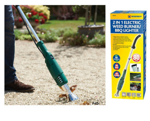 2000W LONG ARM ELECTRIC TORCH GARDEN PATIO LAWN WEED BURNER KILLER REMOVER NEW