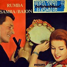 "7"" Orchestre Henry Leca danse international 6 RUMBA SAMBA BAION PHILIPS EP 1959"
