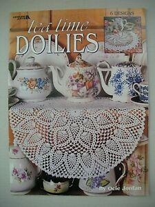 Tea Time Doilies - Ocie Jordan - Crochet Pattern Book