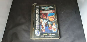 Sega Saturn Game Street Fighter The Movie Boxed with Manual