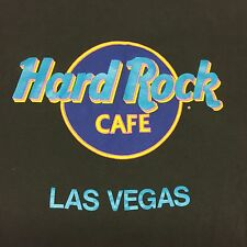 Vintage Hard Rock Cafe T-shirt Thin Soft Las Vegas Restaurant Deli Casino Bar