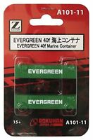 Rokuhan Z gauge - A101-11 EVERGREEN 40f Marine Container  included
