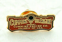 Retro Looking Cummins Oil Diesel Engines Truck Hat Lapel Pin NOS New