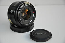 Minolta AF 28mm 1:2.8 (22), No. 51202218. For Sony Alpha. Beercan Serie. Mint!