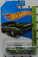 PLYMOUTH ROADRUNNER GTX GREEN ACCEL DRAG RACE CAR 1971 71 MOPAR 244 HOT WHEELS