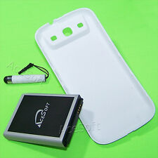 Accessory 7570mAh Extended Battery Thicker Cover F Samsung Galaxy S III SPH-L710