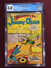 SUPERMAN'S PAL JIMMY OLSEN 2 CGC 3.0 1954 Swan Cover