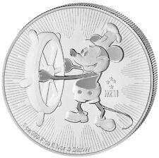 Disney Mickey Mickey Mouse Mouse 1 oz 2$ Niue Island 999 Silber Silbermünze