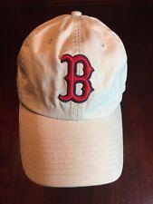 BOSTON RED SOX New Era: Beige Baseball Hat/Cap  TL7