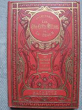Jules Verne : Les cinq cents millions de la Bégum - Hachette 1921