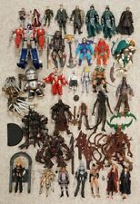 huge 34 figure lot neca transformers motu mcfarlane sin city alien predator