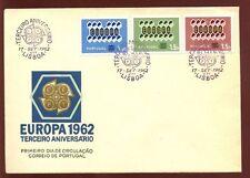 Portugal 1962 Europa Fdc #c 5794
