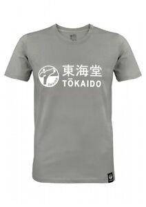 T-SHIRT, TOKAIDO ATHLETIC, DUNKELGRAU, Gr. XS-3XL, Karate, Kickboxen, Ju Jutsu
