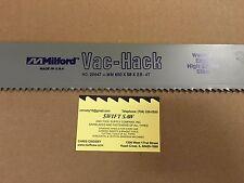 5pcs: 650mm x 55mm x 2.5mm 4T POWER HACK SAW BLADE MILFORD VAC-HACK USA BI-METAL