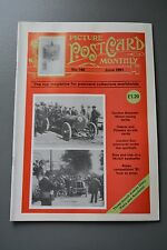 R&L Mag: Picture Postcard Monthly June 1991 WW1 Silks/Motoring cars/Comic Church