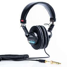 SONY Stereo Headphone MDR-7506 Black New in Box