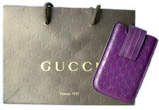 Gucci Leather Cell phone Case Colour Purple