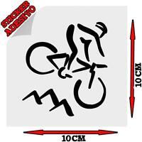 Sticker Adesivo Decal Bicicletta da Corsa Mountainbike Bici Sterrato Salita